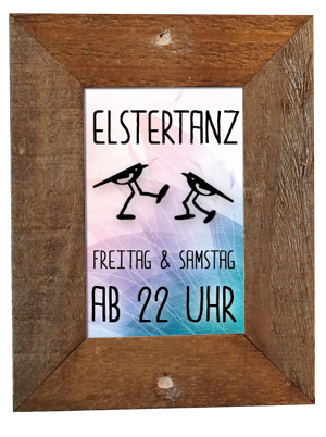 ELSTERTANZ - Freitag und Samstag ab 22 Uhr